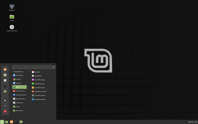 Linux Mint Cinnamon - No Windows Upgrade Linux