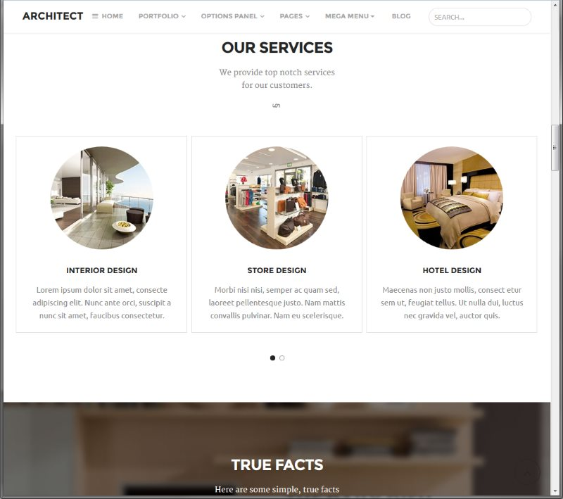 Best WordPress Themes Premium - Architect Theme