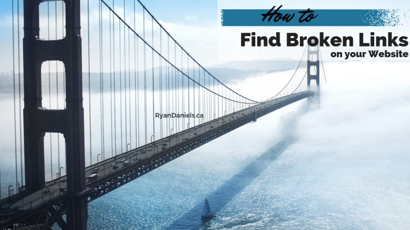 How to Find Broken Links on your Website