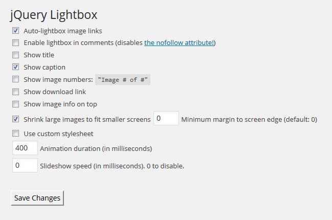 The Best WordPress Lightbox Plugin - WP jQuery Lightbox